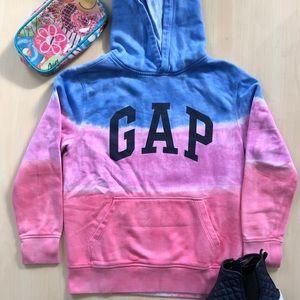 Gap Kids Girls Tye-Dye Hooded Sweatshirt Size XL
